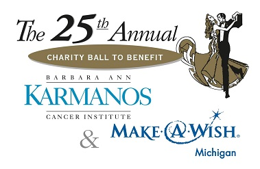 the 23rd annual charity ball to benefit Barbara Ann Karmanos Cancer Institute & Make a Wish Michigan Chapter
